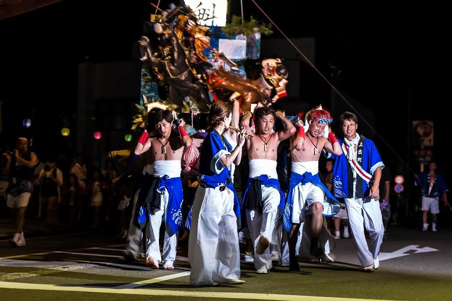 2016.07.23松波人形キリコ祭り夜の乱舞4