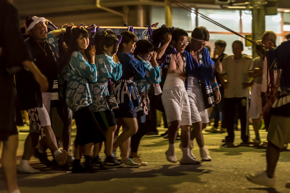 2016.07.23松波人形キリコ祭り夜の乱舞3