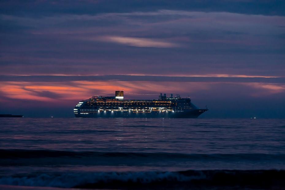 2016.07.27内灘の夕景3