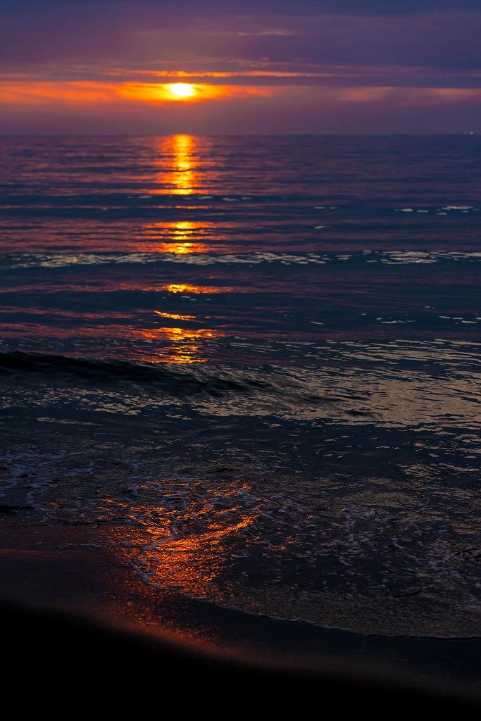 2016.07.27内灘の夕景1