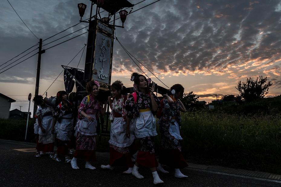 2016.08.14夕暮れの西海祭り12