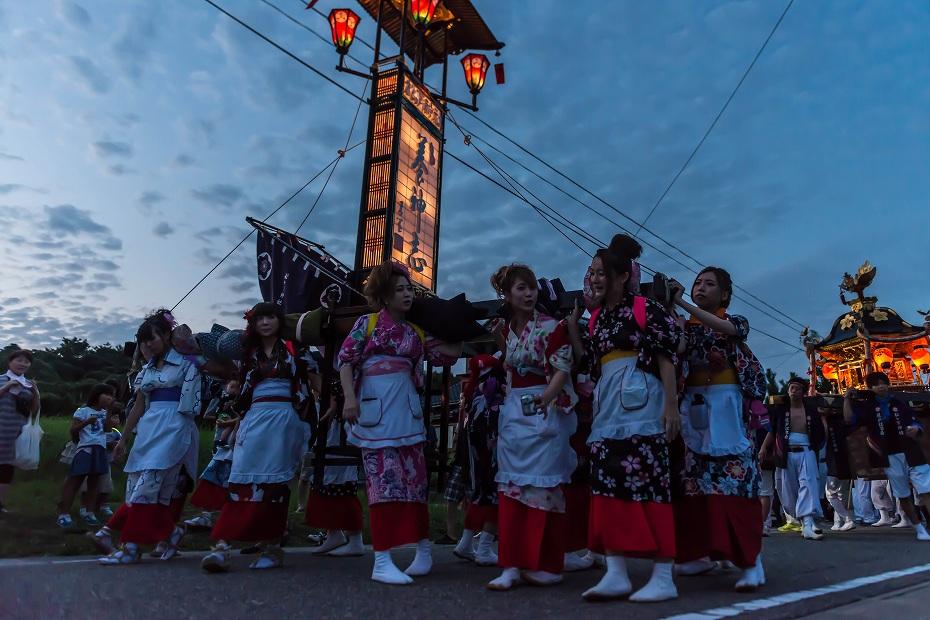 2016.08.14夕暮れの西海祭り10