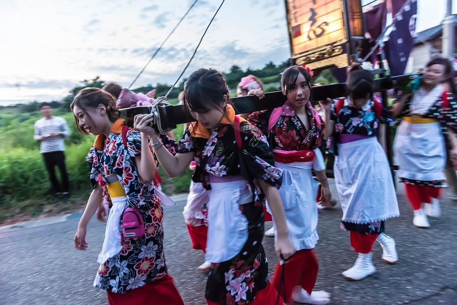 2016.08.14夕暮れの西海祭り9