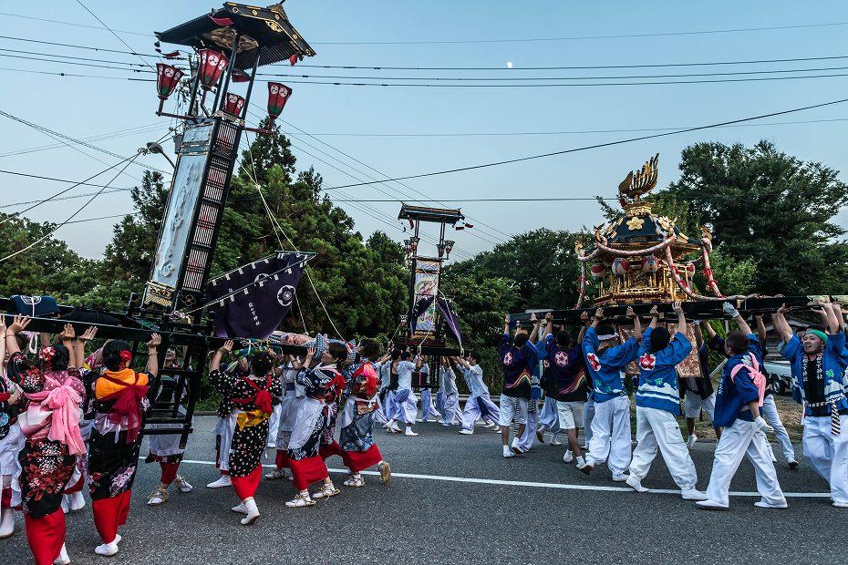 2016.08.14夕暮れの西海祭り7