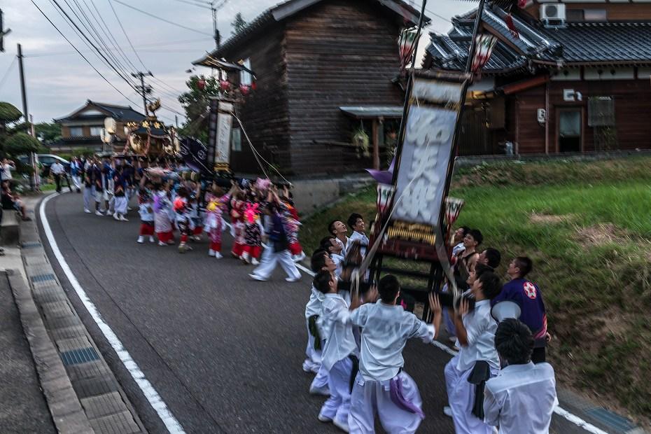 2016.08.14夕暮れの西海祭り8