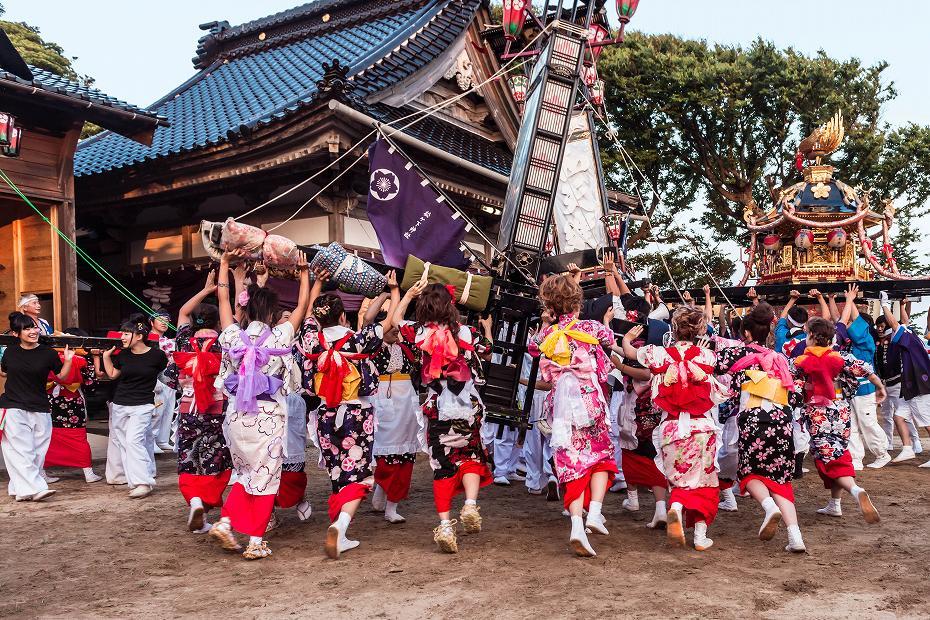 2016.08.14夕暮れの西海祭り3