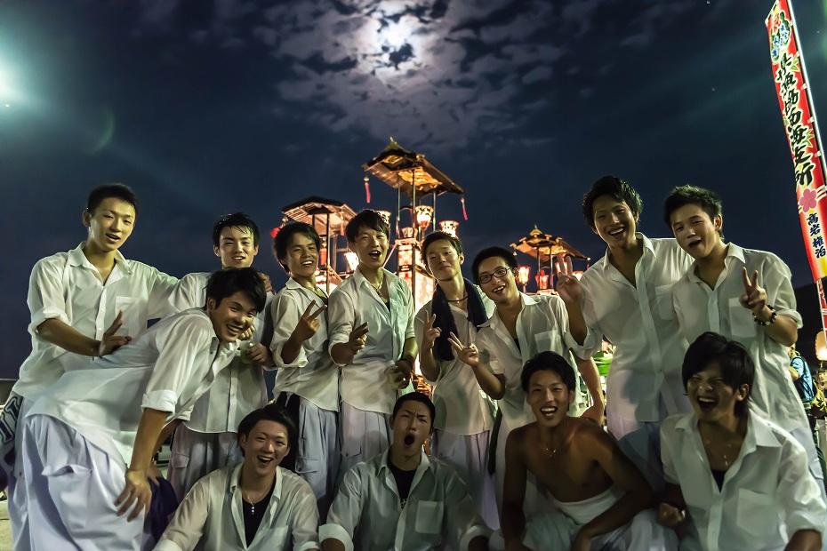 2016.08.14激しくぶつかる西海祭り1