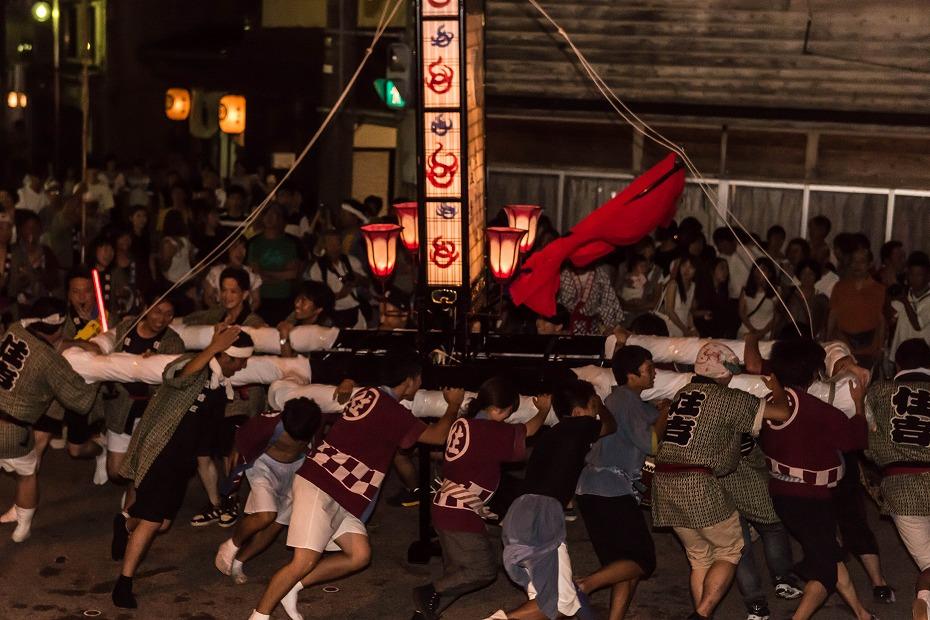 2016.08.24輪島大祭3日目住吉神社8