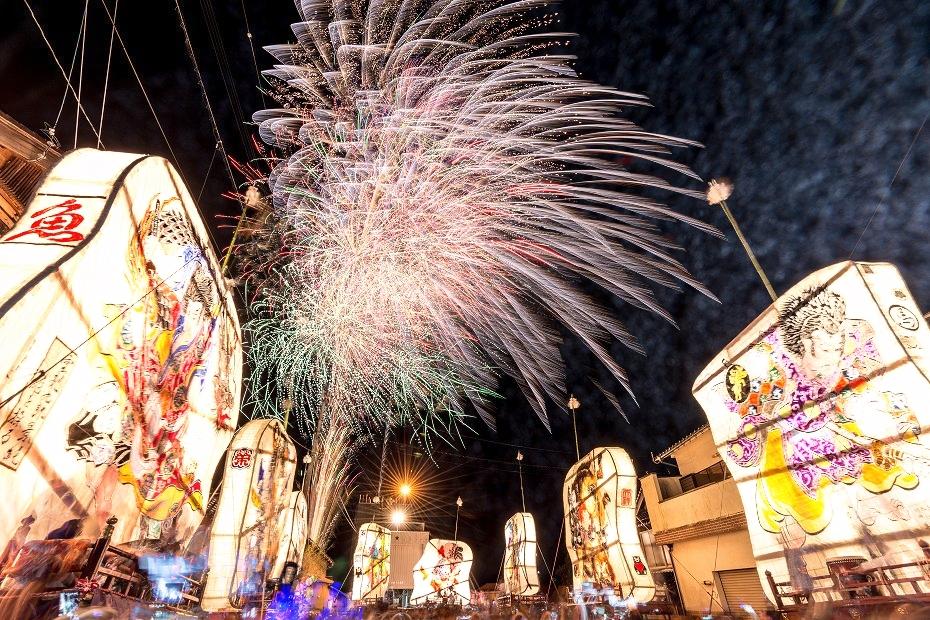 2016.08.27にわか祭の花火5