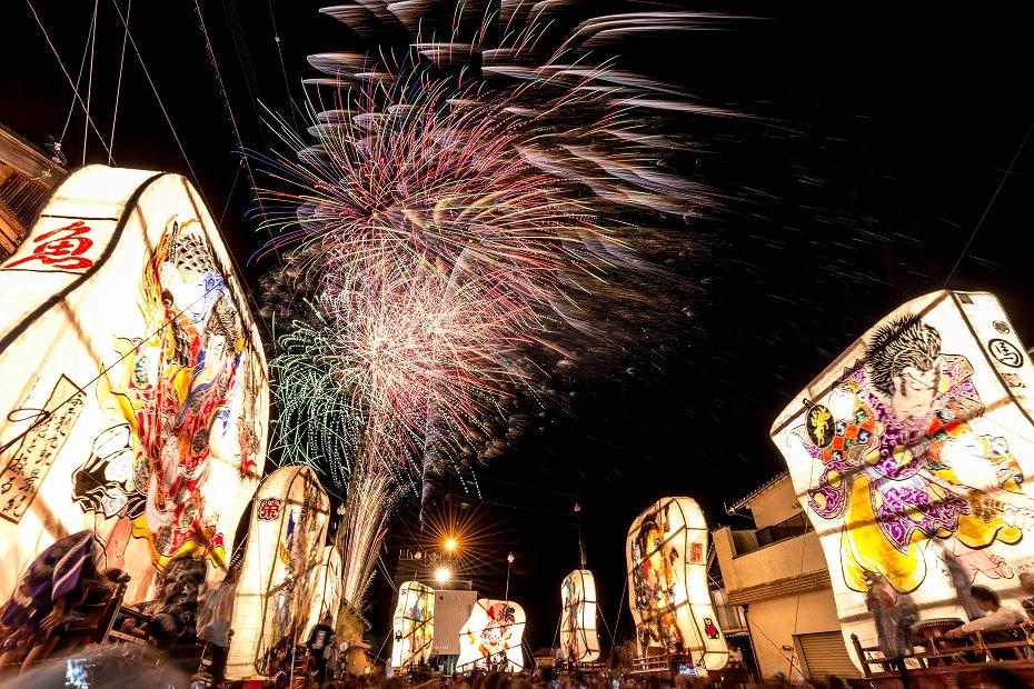 2016.08.27にわか祭の花火4