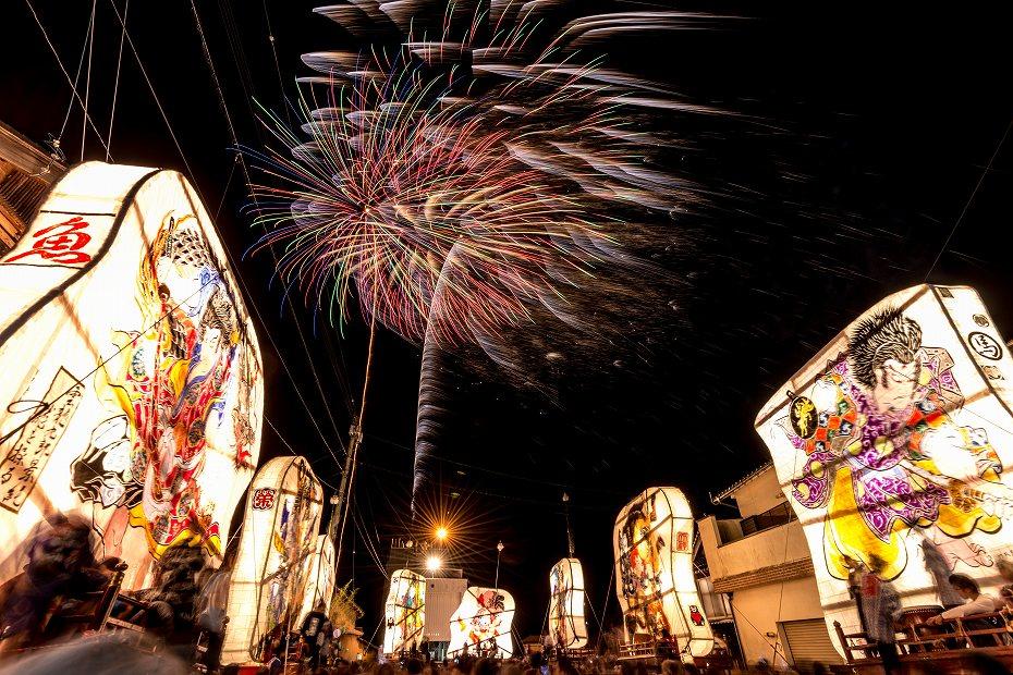 2016.08.27にわか祭の花火2