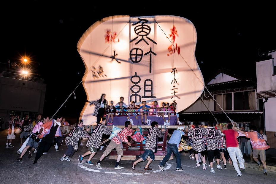 2016.08.27にわか祭の広場で回転23