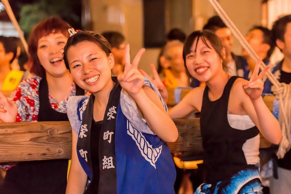 2016.08.27にわか祭海瀬神社境内乱舞10