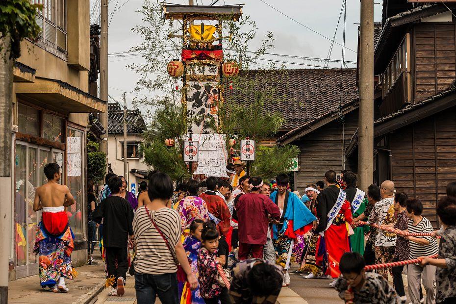 2016.09.11蛸島キリコ祭り巡行2