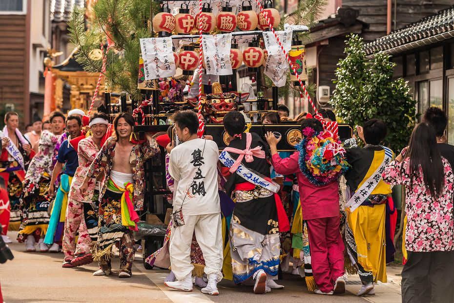 2016.09.11蛸島キリコ祭り巡行4