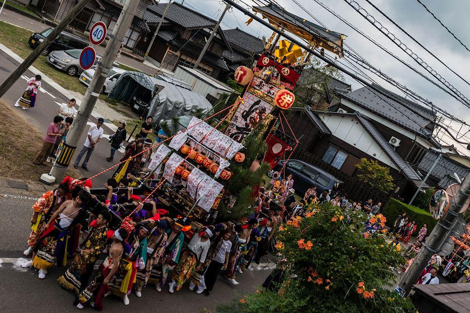 2016.09.11蛸島キリコ祭り巡行1