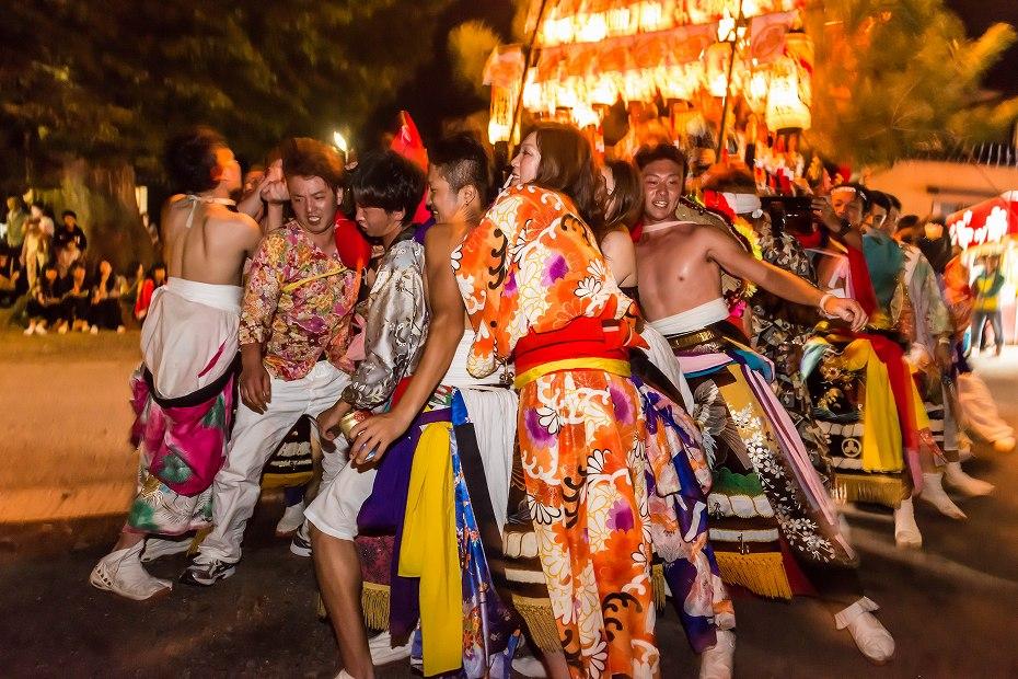 2016.09.11蛸島キリコ祭り乱舞1