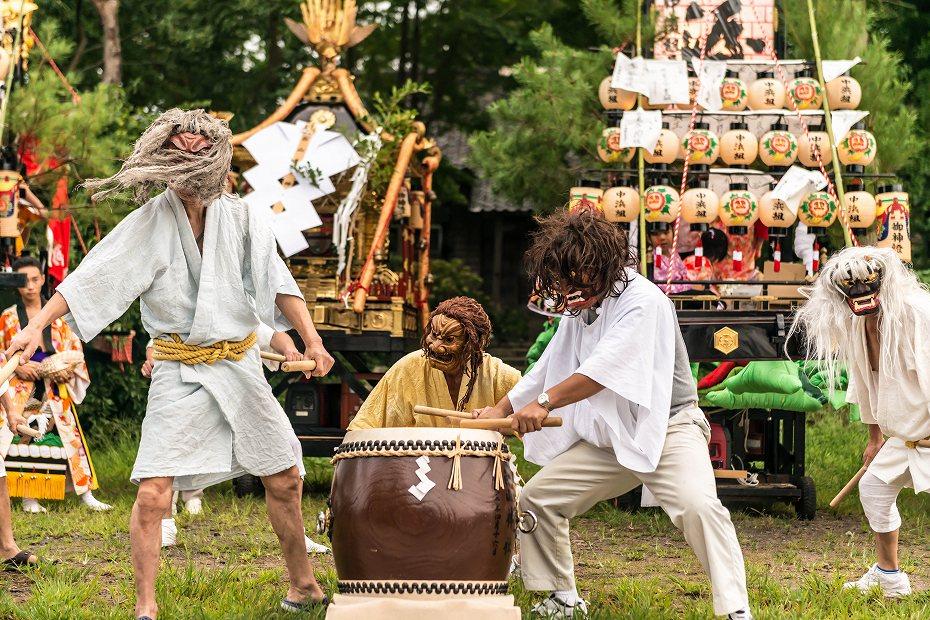 2016.09.13雲津の秋祭り_雲津白山太鼓3