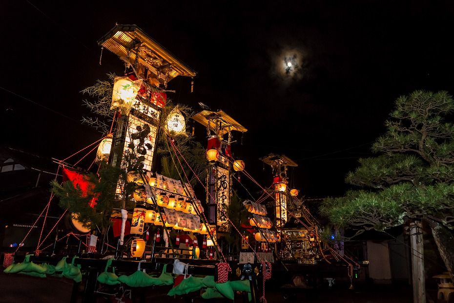 2016.09.13雲津の秋祭り_夜の巡行1