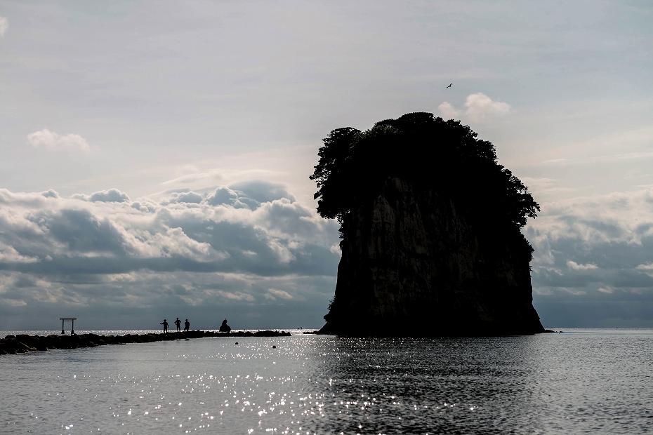 2016.09.15見附島の朝景5