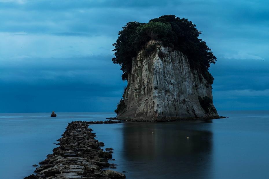 2016.09.15見附島の朝景1