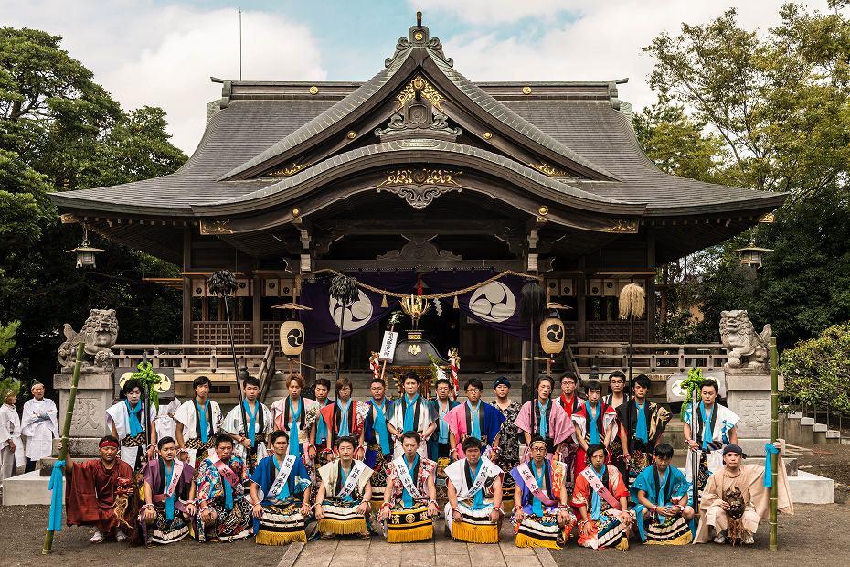2016.09.15正院の秋祭り奴振り1