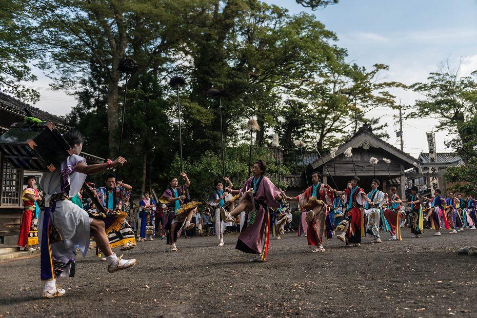2016.09.15正院の秋祭り奴振り3