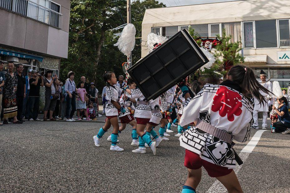 2016.09.15正院の秋祭り子ども奴振り3
