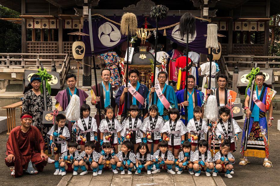 2016.09.15正院の秋祭り子ども奴振り1