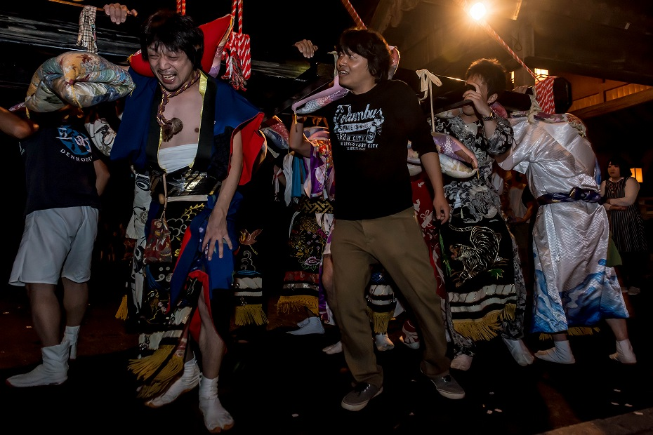 2016.09.15正院の秋祭り境内で乱舞16