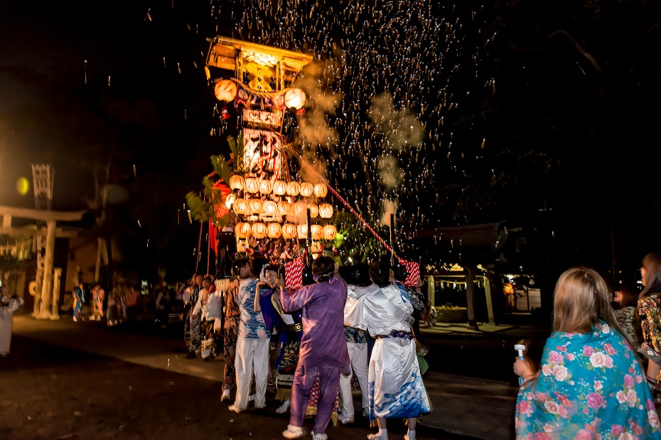 2016.09.15正院の秋祭り境内で乱舞12