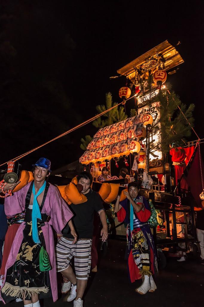 2016.09.15正院の秋祭り境内で乱舞8