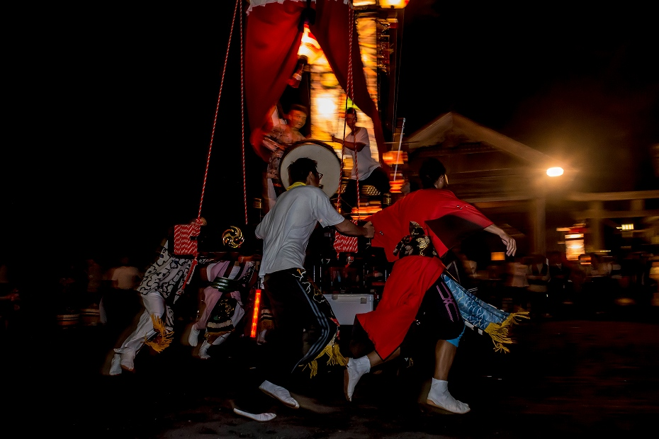 2016.09.15正院の秋祭り境内で乱舞7