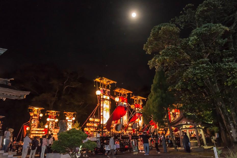 2016.09.15正院の秋祭り境内で乱舞1