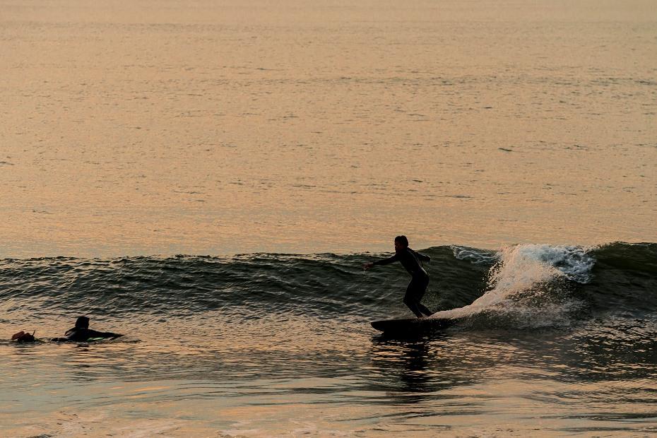 2016.10.05内灘海岸の夕焼け2