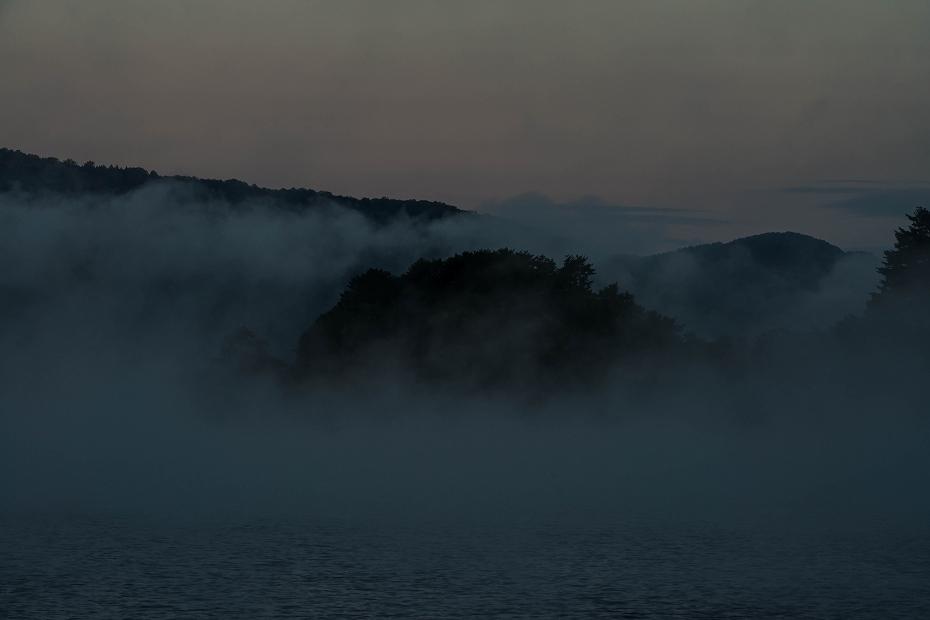 2016.10.15桧原湖の朝霧3
