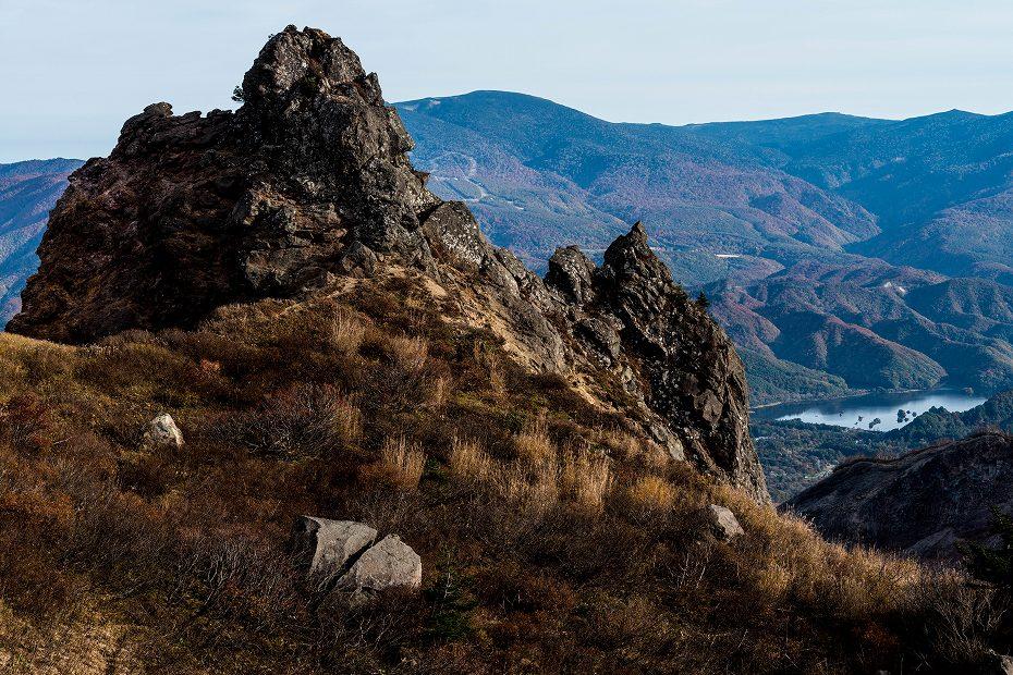 2016.10.22雲海と紅葉 磐梯山11