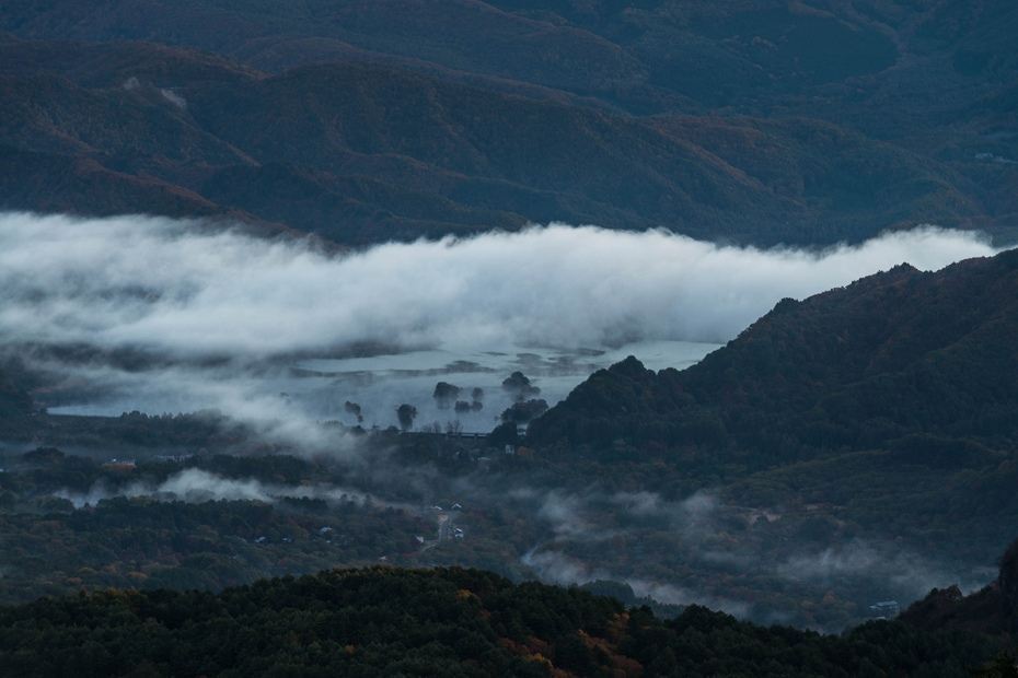 2016.10.22雲海と紅葉 磐梯山2