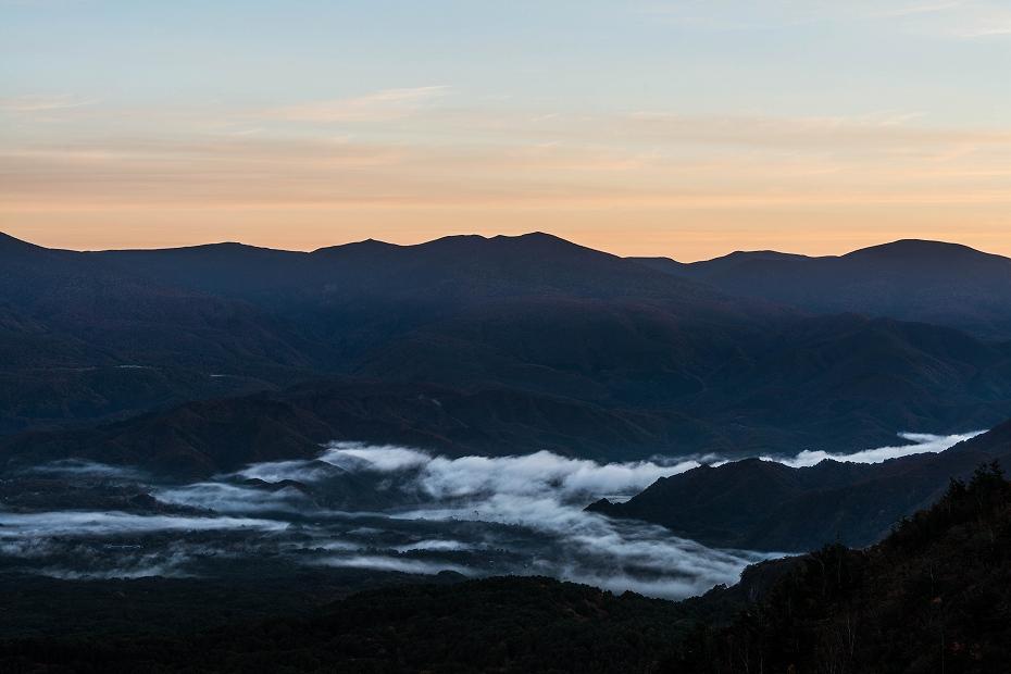2016.10.22雲海と紅葉 磐梯山1