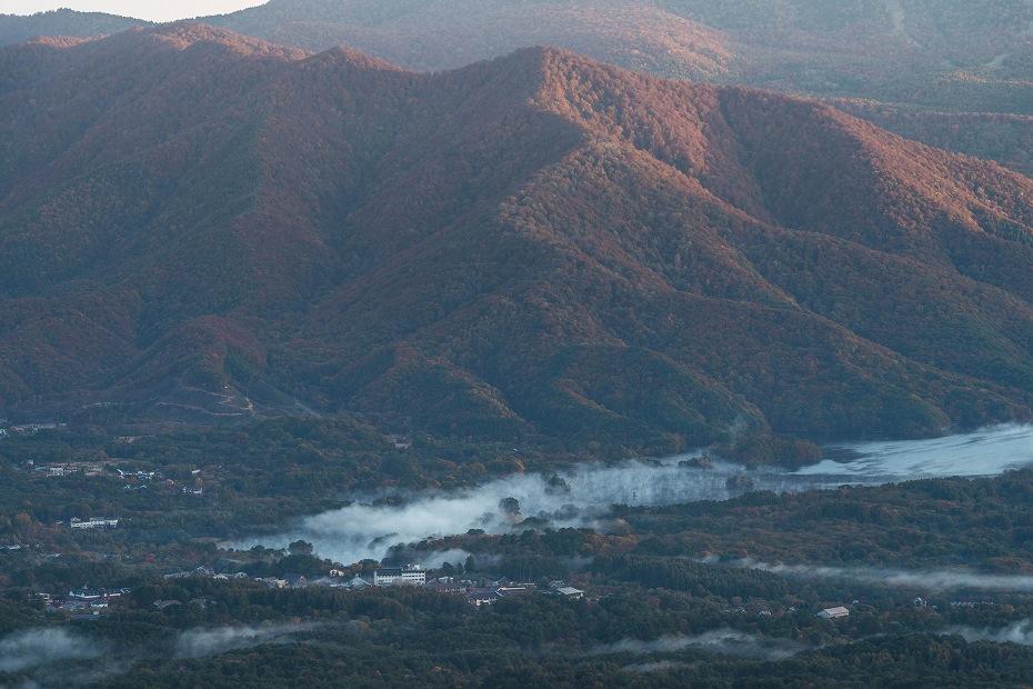 2016.10.22雲海と紅葉 磐梯山3