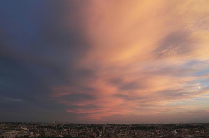 夕焼け 7.28 18.50