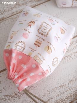 YUWA mini巾着 マカロン