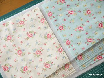 YUWA花柄 2色カット