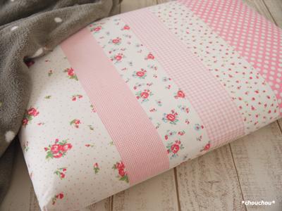 YUWA FS 枕カバー ピンク1