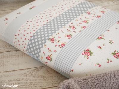 YUWA 枕カバー グレー2