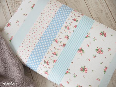 YUWA 枕カバー サックス