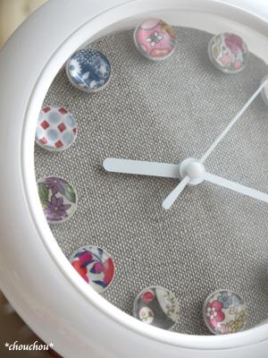 ダイソー時計 リメイク8