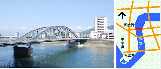 御成橋マップ