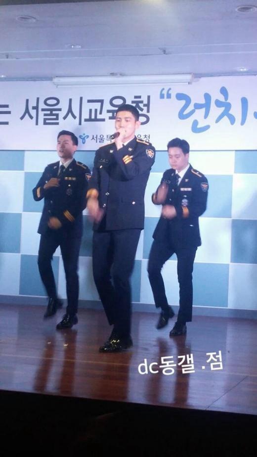 160629ソウル市教育庁ランチコンサートチャミ