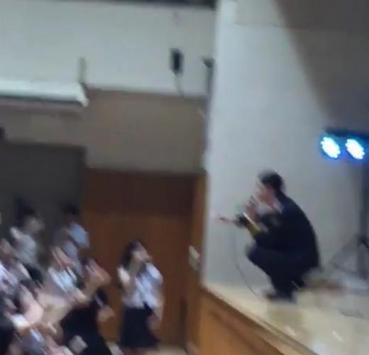 160711学校暴力予防公演チャミ